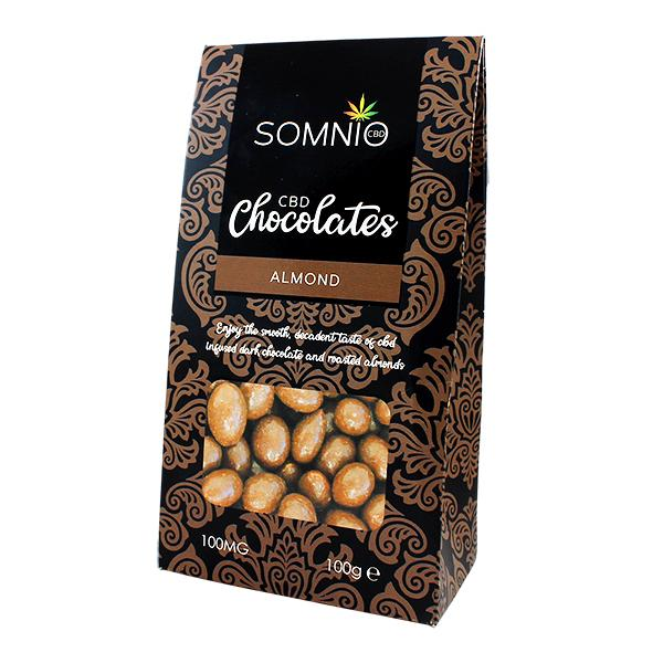 box of Full spectrum CBD chocolates UK