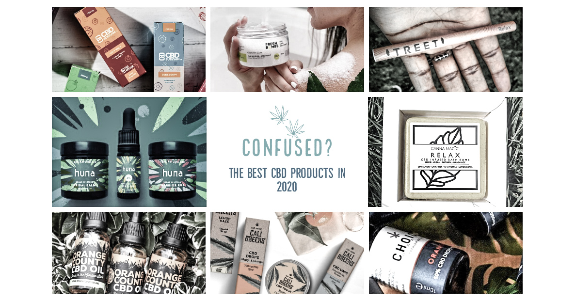 best cbd products of 2020 blog