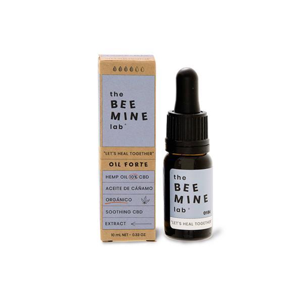 bottle of The Beemine Lab CBD Oil Forte+