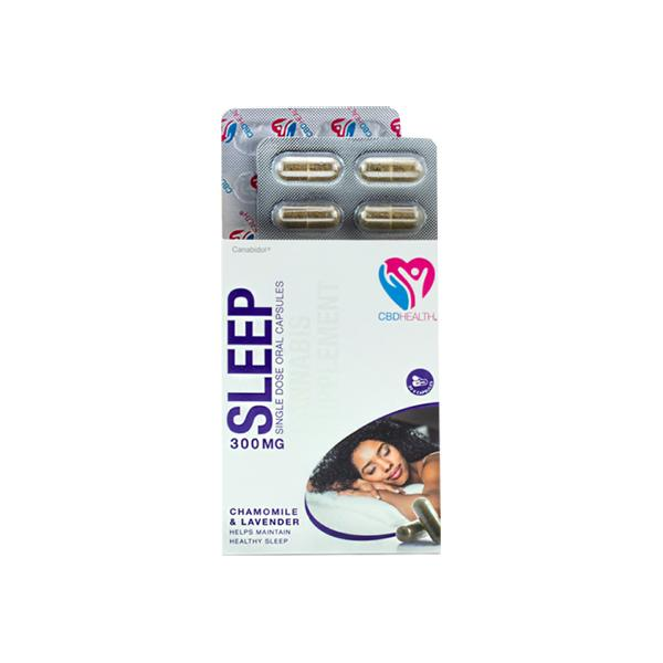 cbd sleep capsules by canabidol UK