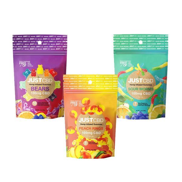 vegan cbd gummies range by just cbd