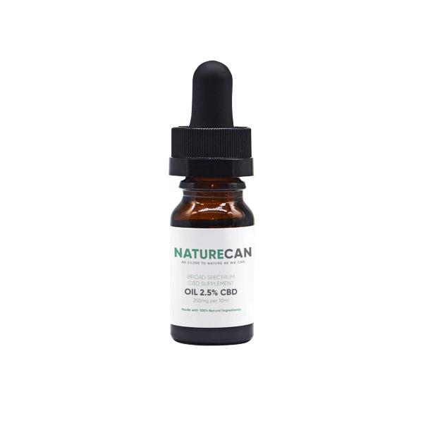 naturecan cbd oil 250mg
