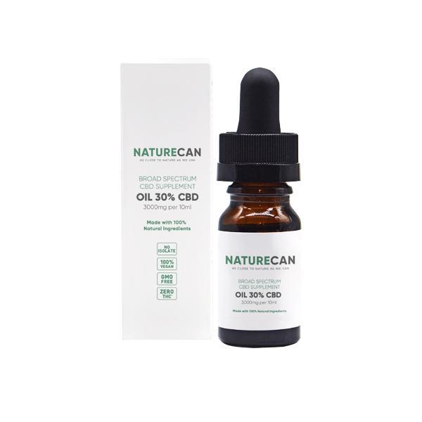 naturecan cbd oil 3000mg bottle