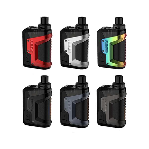 aegis hero vape pod kit range by geekvape
