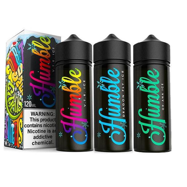 humble juice UK ice range of e-liquids