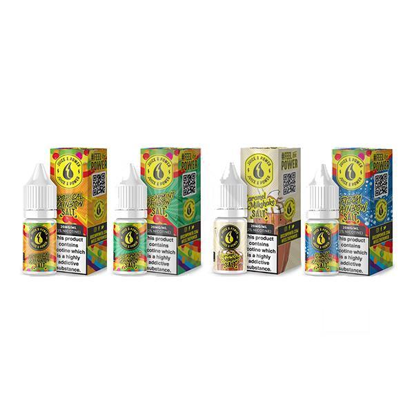 boxes of juice n power nicotine salts