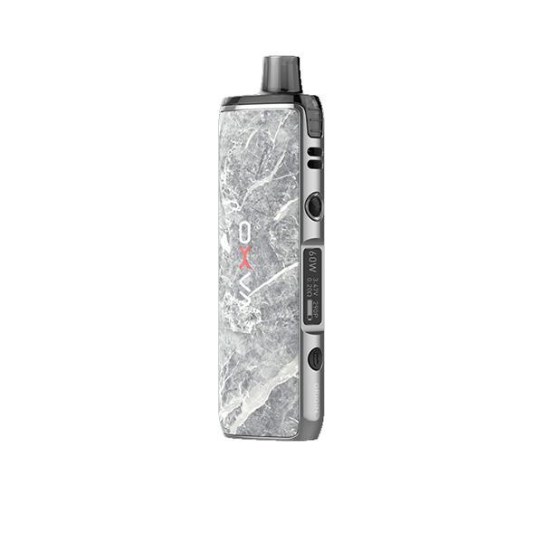 oxva origin x vape kit in marble grey colour