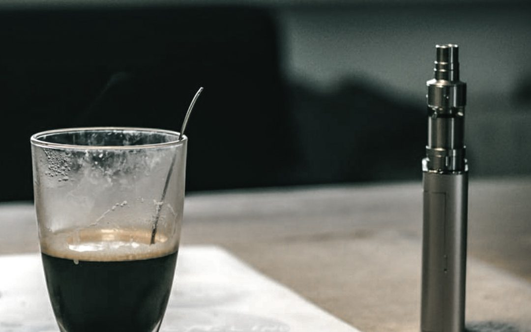vaping and coffee - benefits of vaping blog
