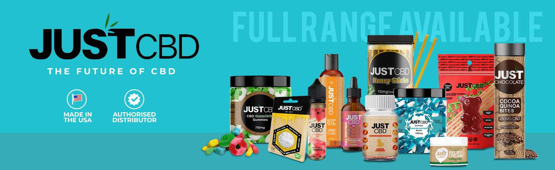 just cbd full range of cbd products